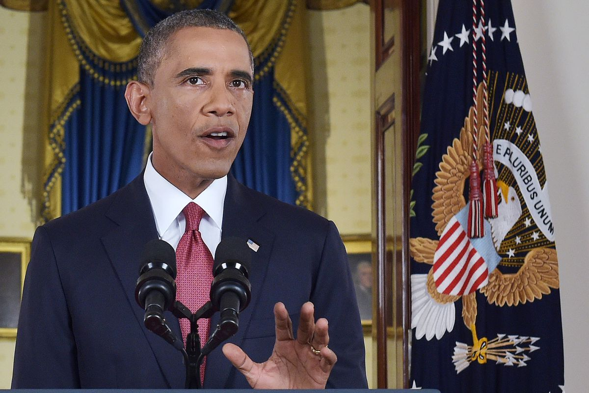 Obama announces military campaign against ISIS