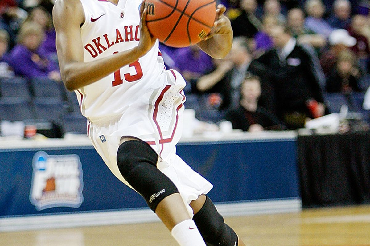 Danielle Robinson will be one of the first PGs taken in the 2011 WNBA Draft (Photo by OU Athletics)