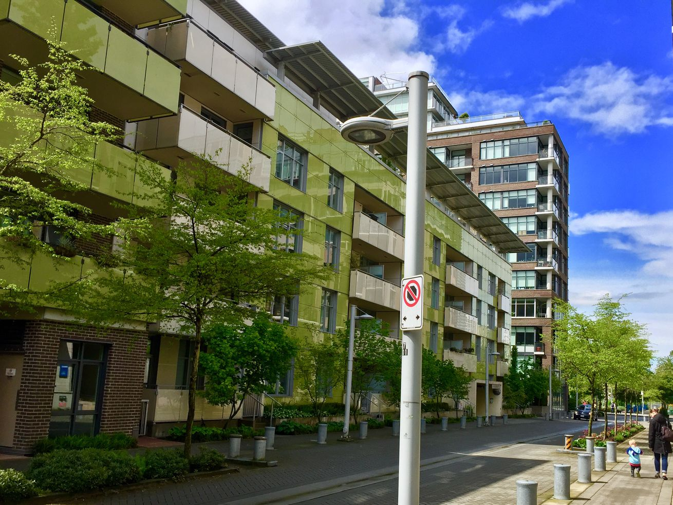 Publicly owned family rental housing in Vancouver's Olympic Village.