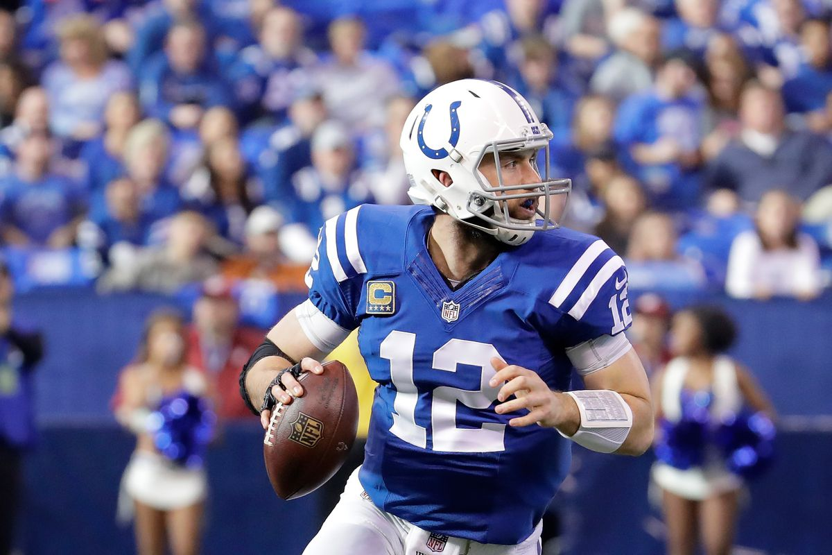 It is rumored that Andrew Luck was throwing 30 yard finesse passes