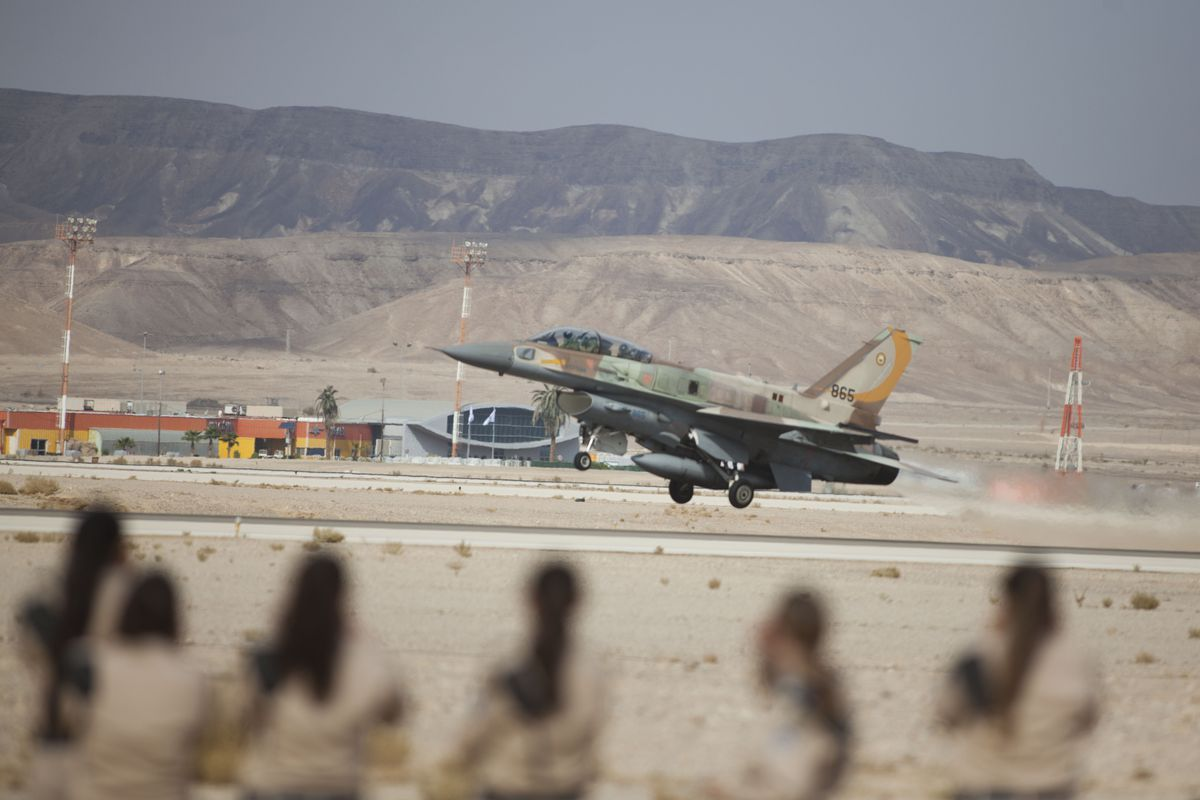 Israeli Jets Reportedly Strike Syrian Military Positions Near Masyaf: Two Dead