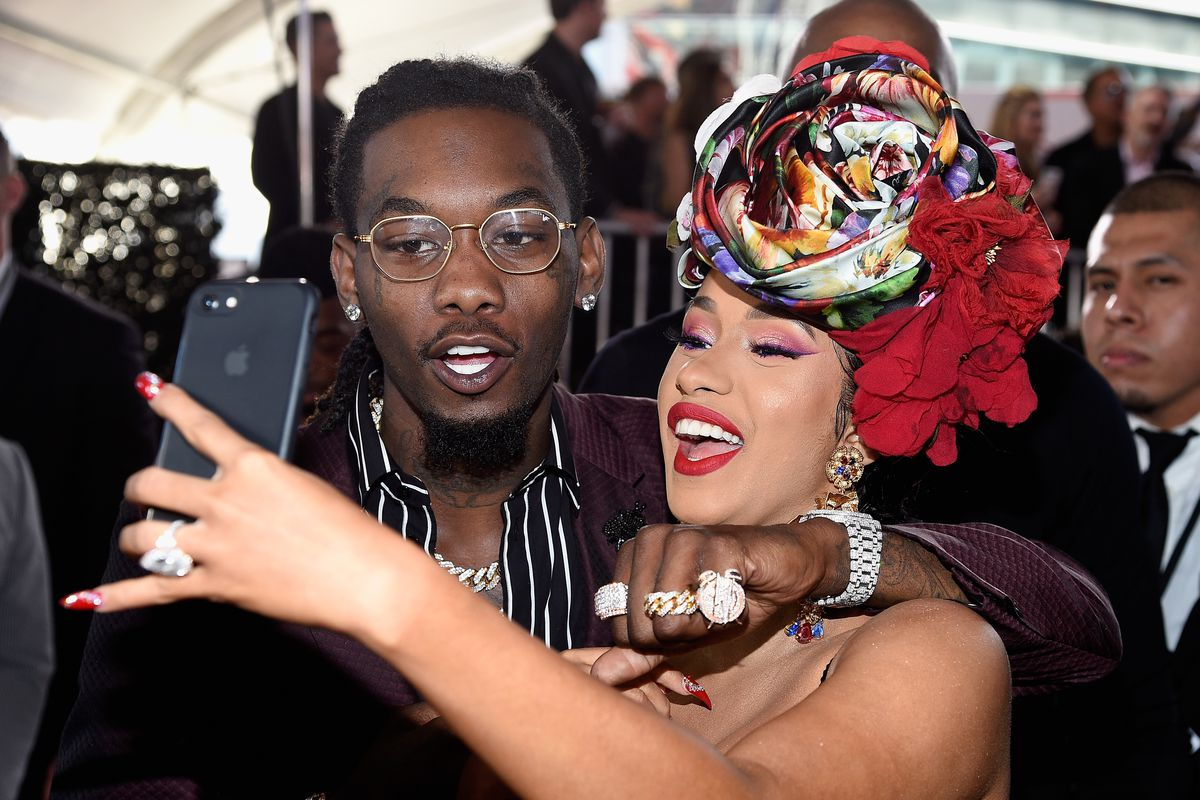 Is Cardi B S Offset Name Tattoo Real The Ink Is A Giant: Offset Stormed The Stage At Cardi B's Concert. It Was Not