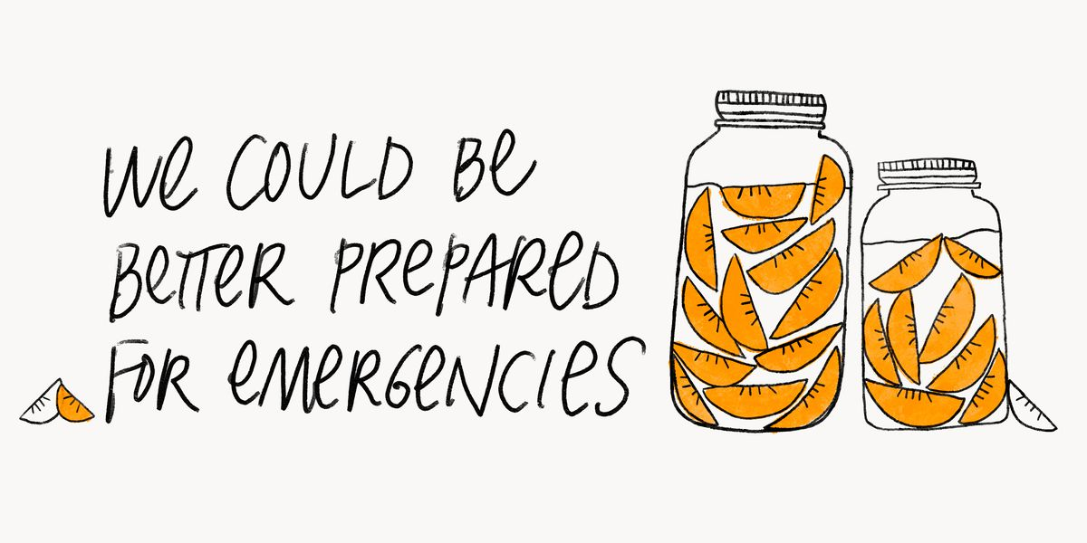 We could be better prepared for emergencies