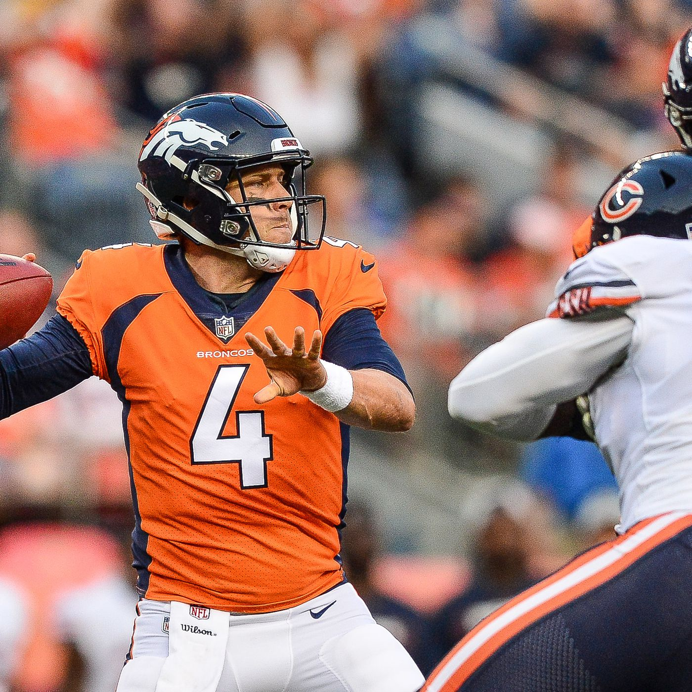ac620fad Five things we learned from the Broncos 24-23 defeat by the Bears ...