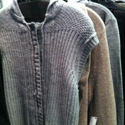 Soft womenswear knits