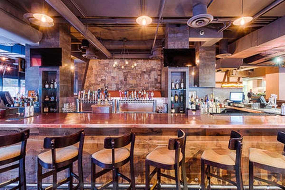 Expect industrial design elements married with the stone and wood familiar from the U City location, which sounds similar to City Tap House DC, seen here.