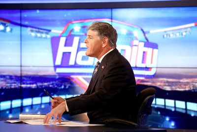 Former Vice President Dick Cheney And His Daughter Liz Cheney Visit FOX News' 'Hannity'