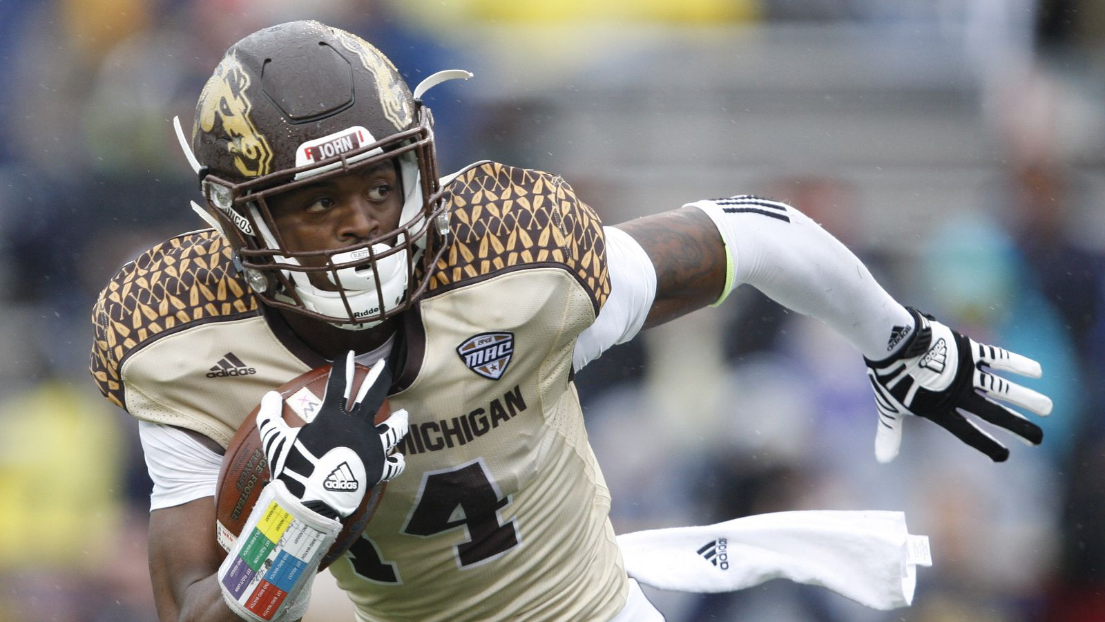 Report: Western Michigan's Darius Phillips could see some time on ...