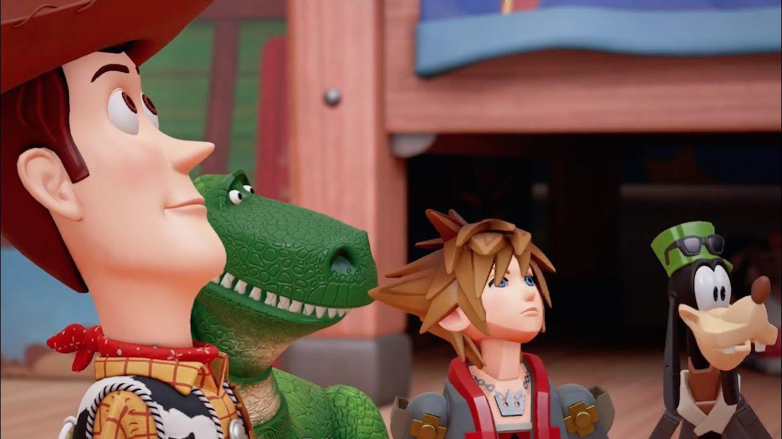 Kingdom Hearts 3 makes good on PlayStation's apocryphal promise