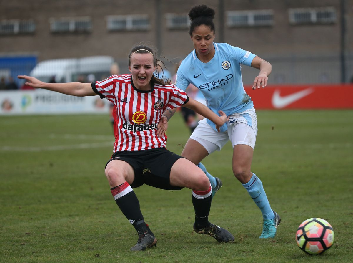Sunderland AFC Ladies v Manchester City Women - WSL