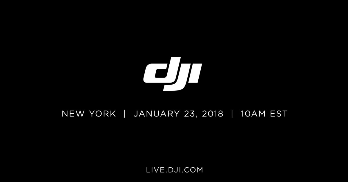 DJI might unveil Mavic Air at drone event next Tuesday