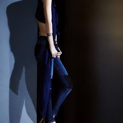 811 ankle skinny patch jeans ($235).
