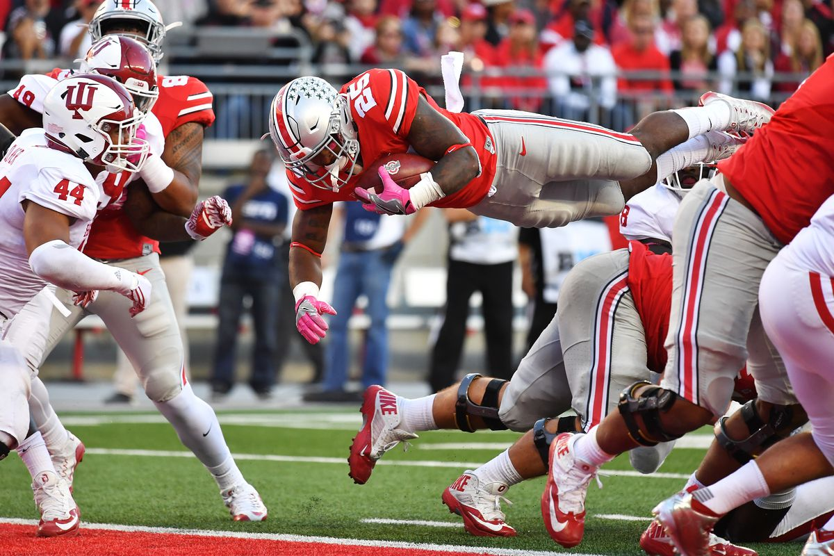Ohio State Wisconsin 2016 Depth Chart Starters Remain The Same Heading Into Night Vs Badgers