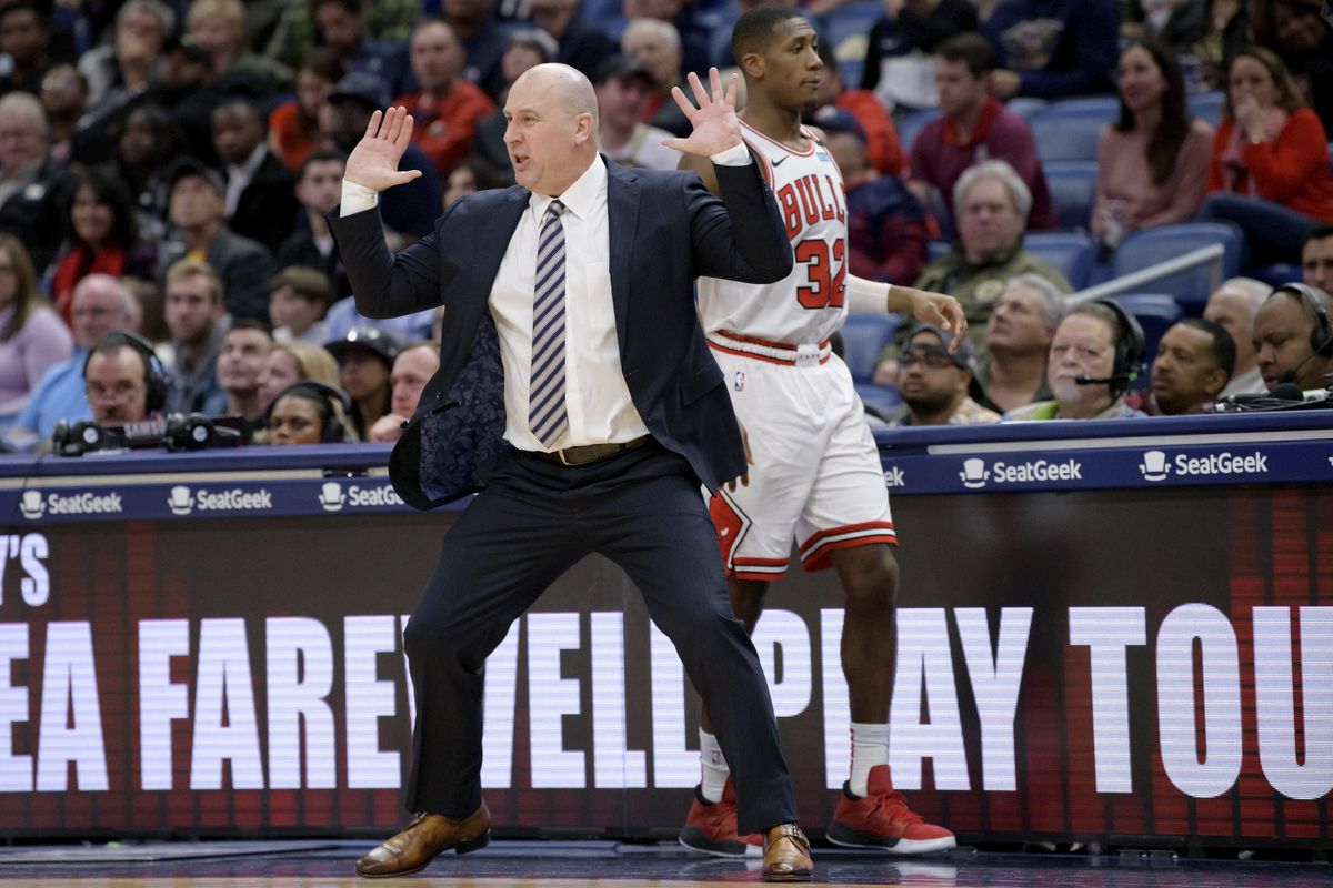 The Bulls have fired Jim Boylen, who went 39-84 in his short tenure as head coach.