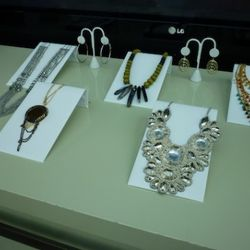 Some of the jewelry come in two-piece sets for $39.95.