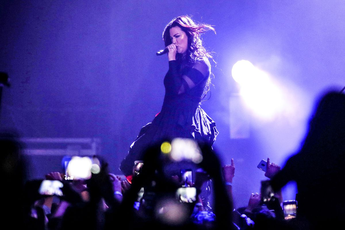 Famous symphonic rock band Evanescence in Istanbul