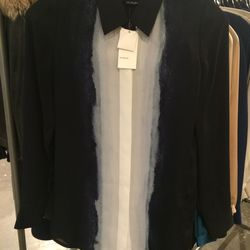 Silk blouse, size 0, $70 (was $345)