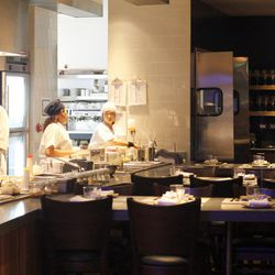 Chefs tables at Paiche