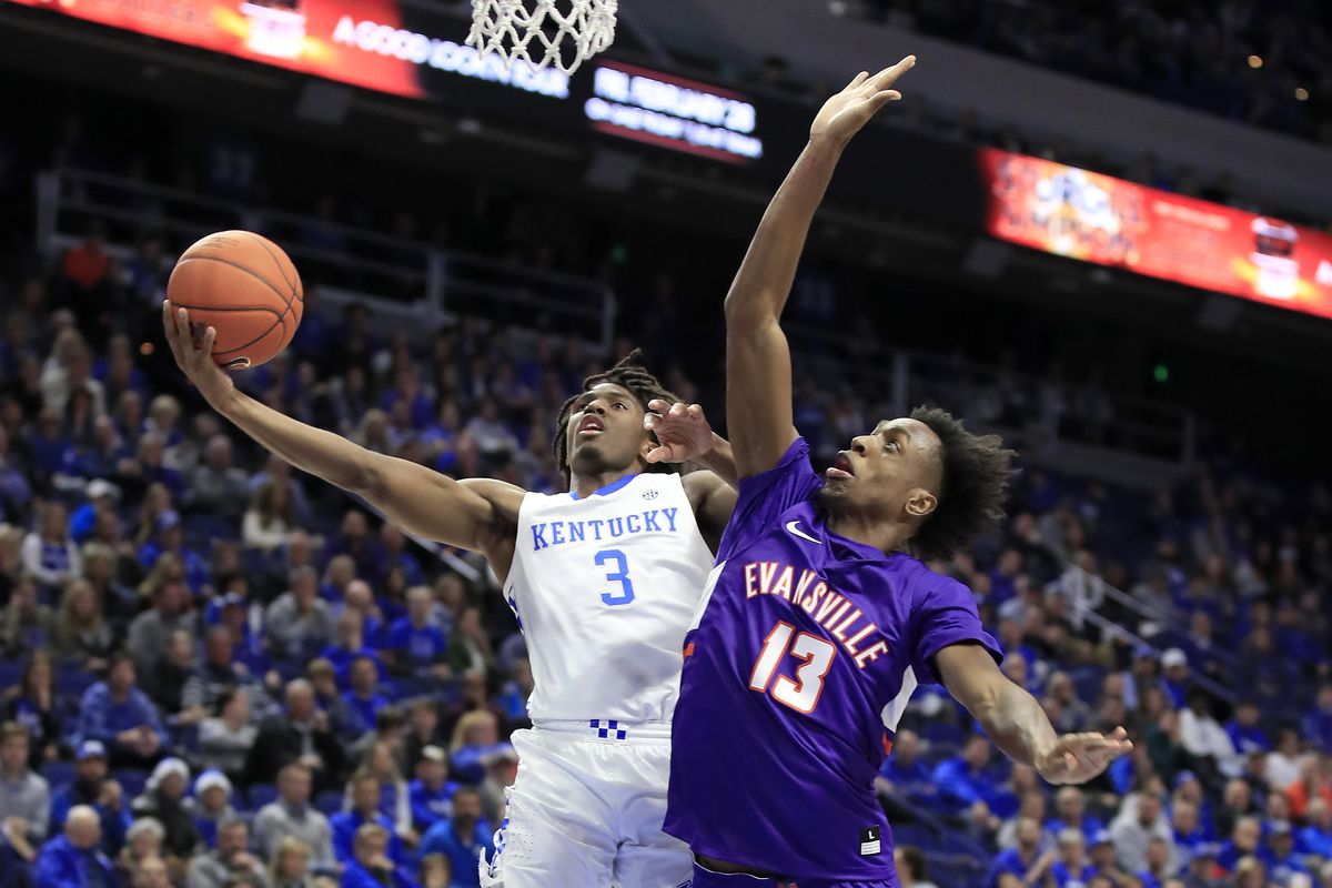 Kentucky Basketball was out-rebounded, out-shot, out-hustled and ultimately out-played vs. Evansville
