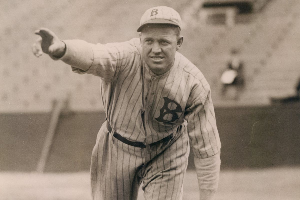 Hall of Fame pitcher Burleigh Grimes won 158 games in nine years with the Dodgers.