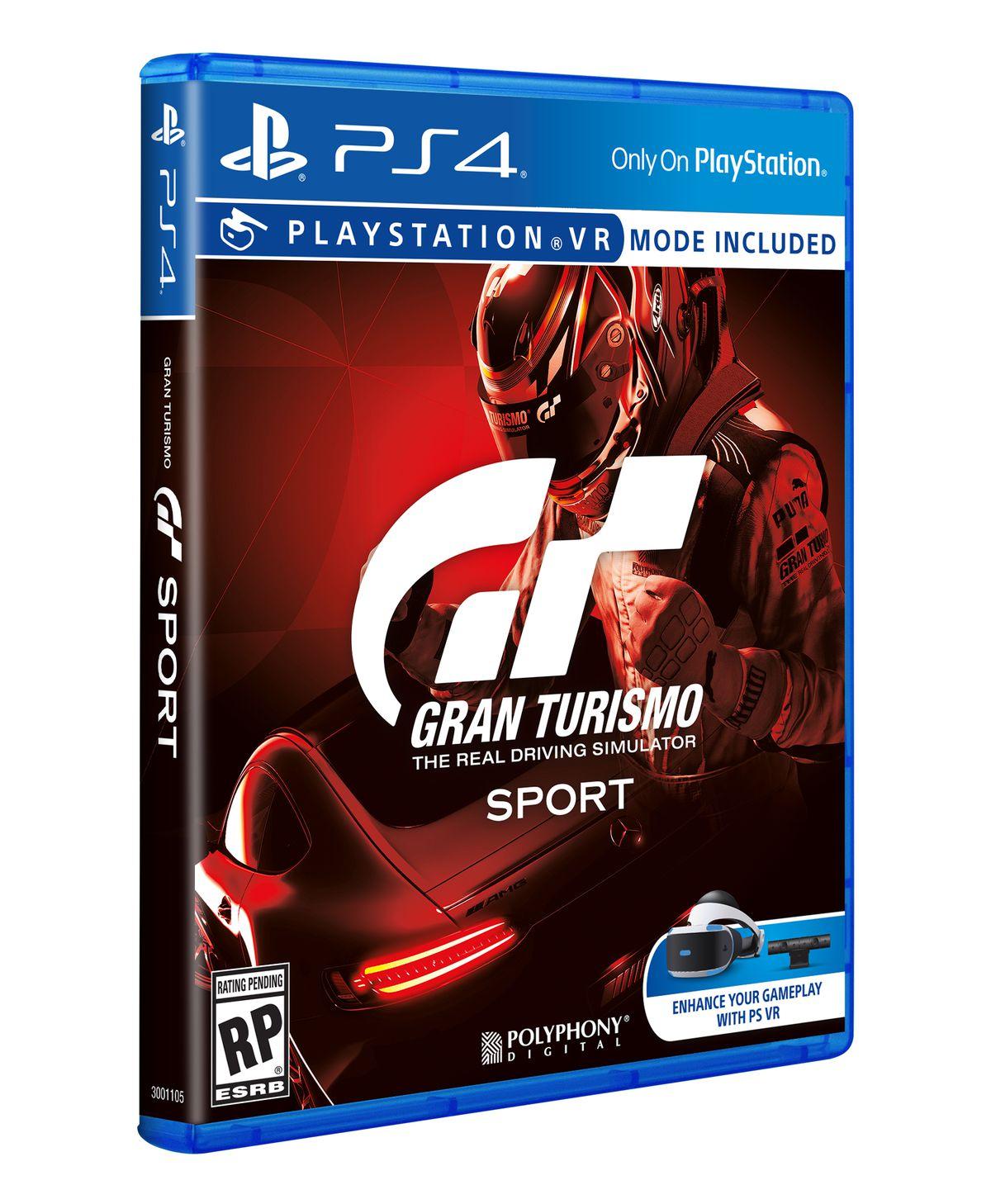 Gran Turismo Sport cover artwork