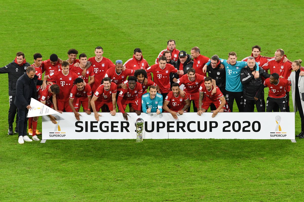 Match Awards From Bayern Munich S 3 2 Win Over Borussia Dortmund In The Dfl Supercup Bavarian Football Works