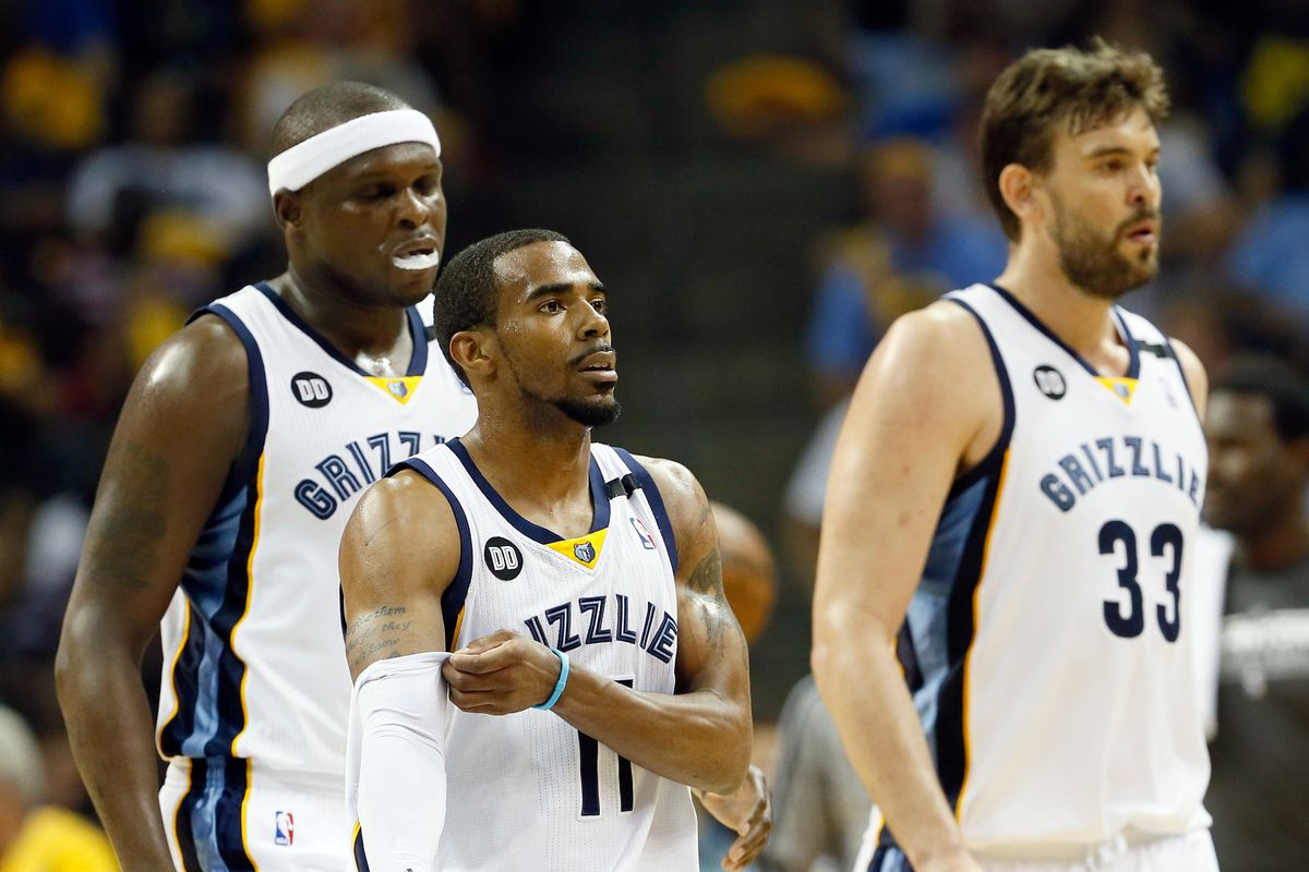 Unless these three guys are playing to their capabilities, the Grizzlies will have a rough go of it.