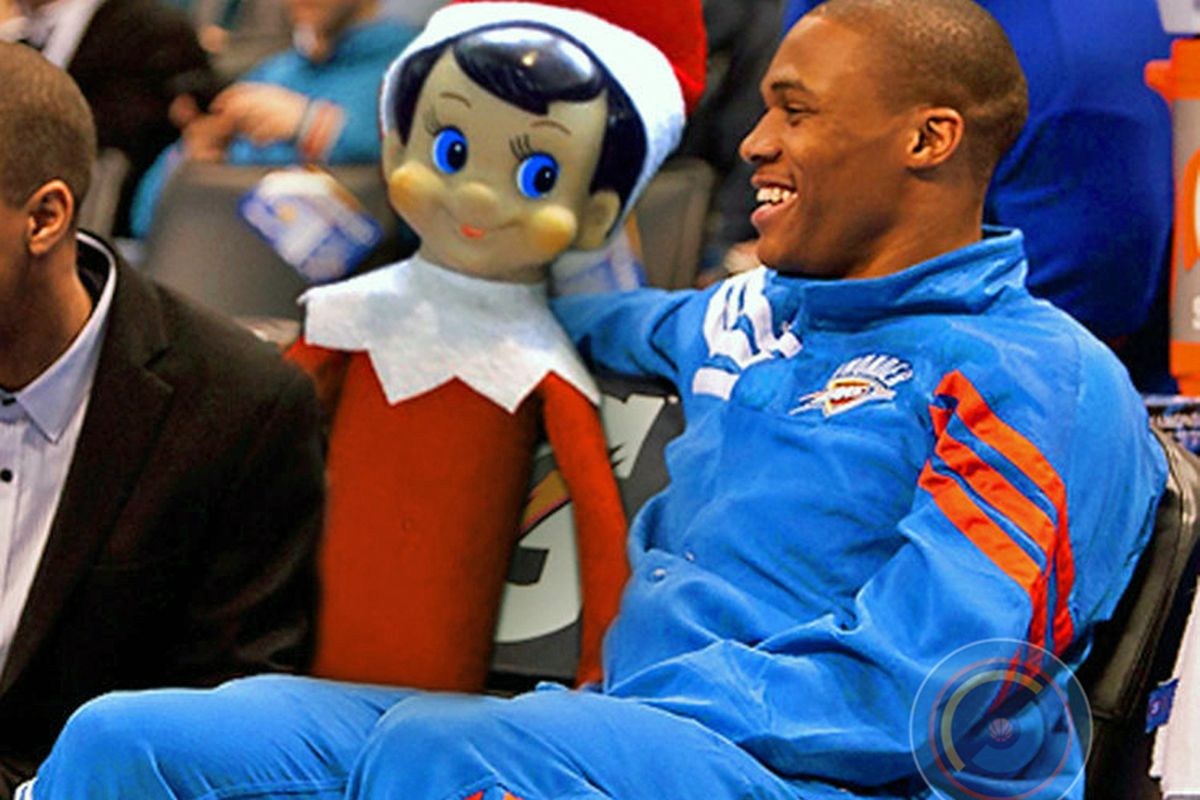 Elf on a Shelf and the Thunder are getting closer to their potential