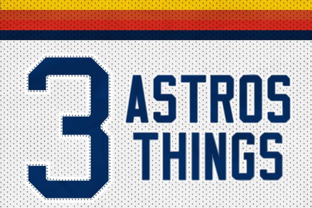 3 Astros Things rainbow
