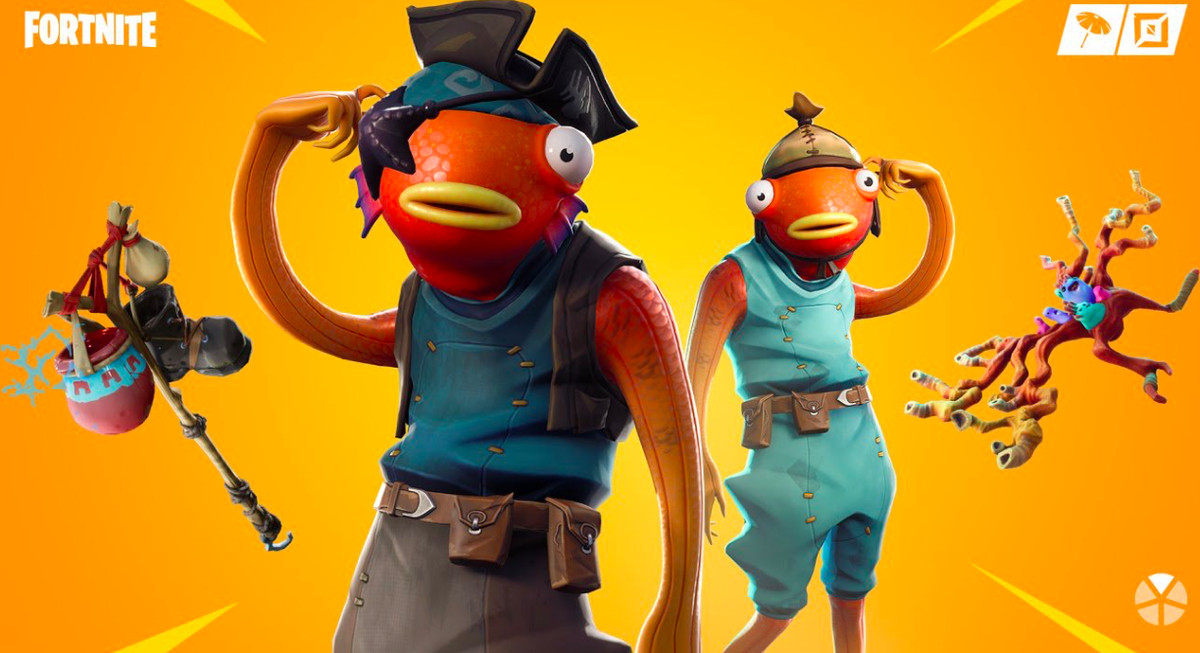 A fish Fortnite skin.