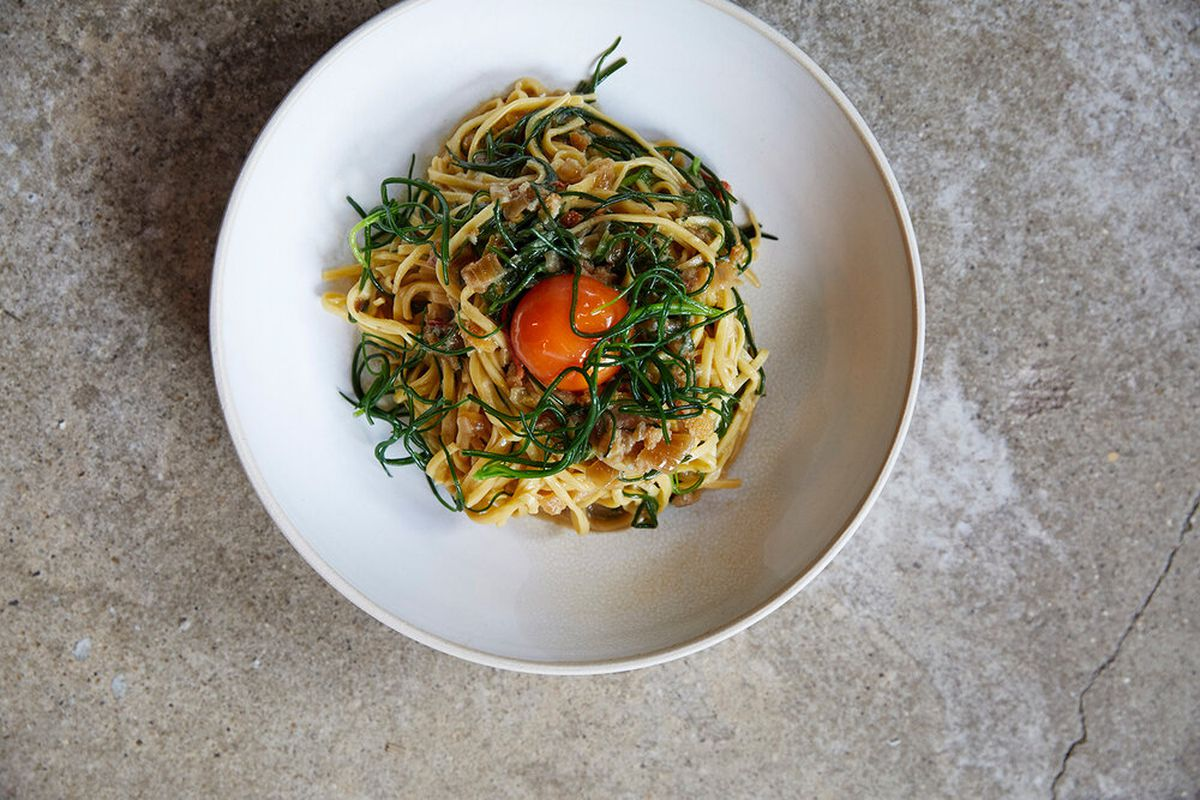 Some of the fresh pasta guests can expect at the Light Bar, a new restaurant and bar opening on Shoreditch High Street in Shoreditch from next month