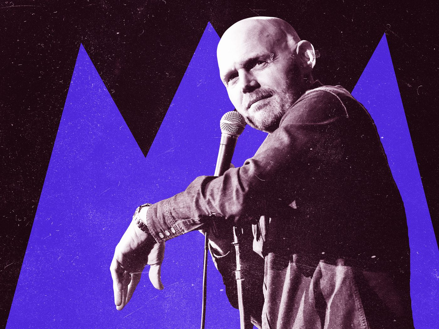Bill Burr Talks About Growing A Mustache And Learning How To Act The Ringer