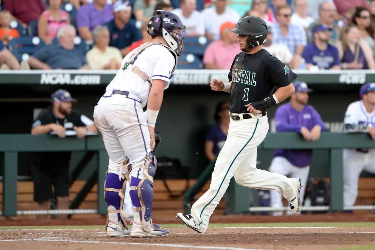 The Frogs had no answer for Andrew Beckwith tonight, but they get another shot at advancing tomorrow.