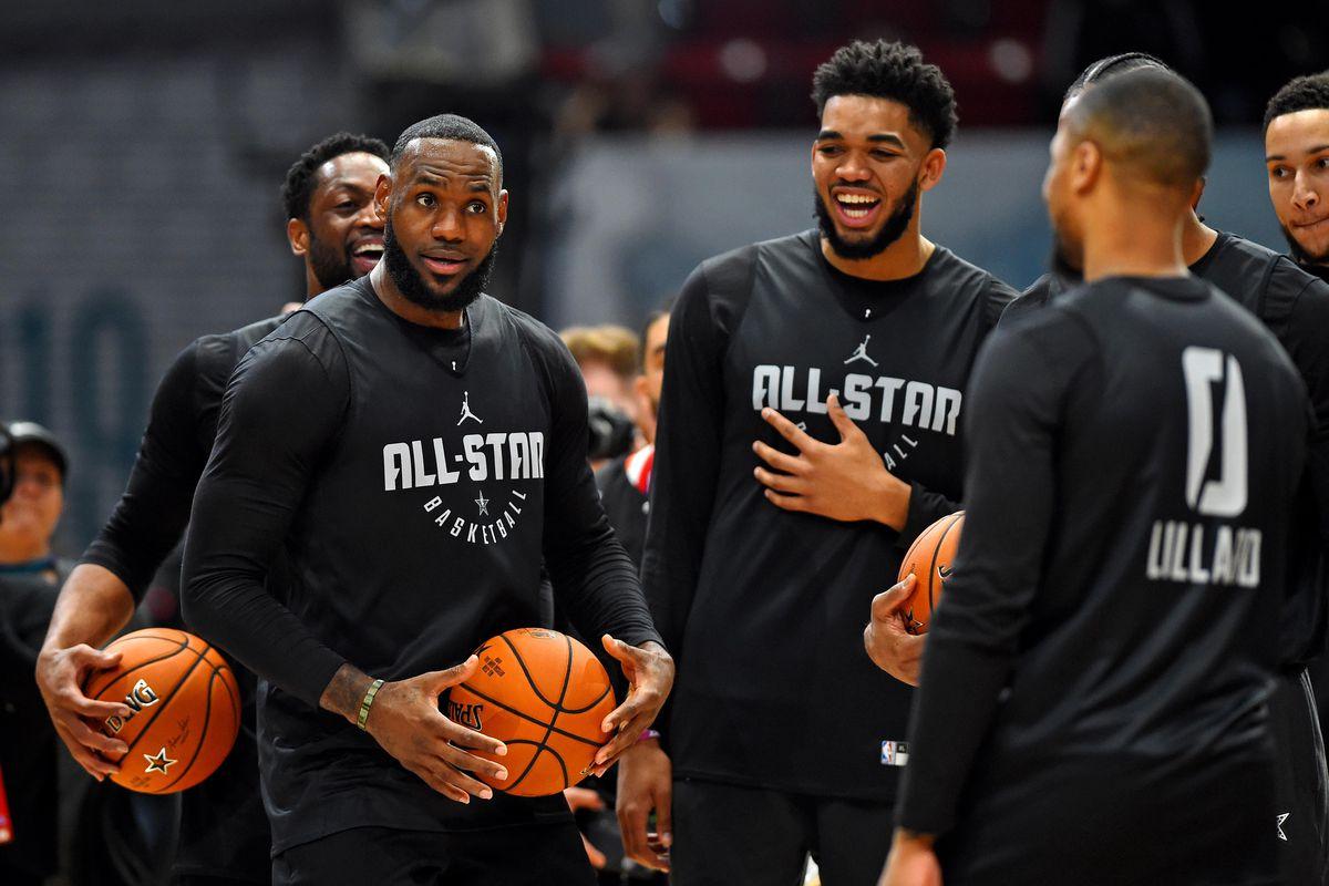 NBA: All Star-Practice