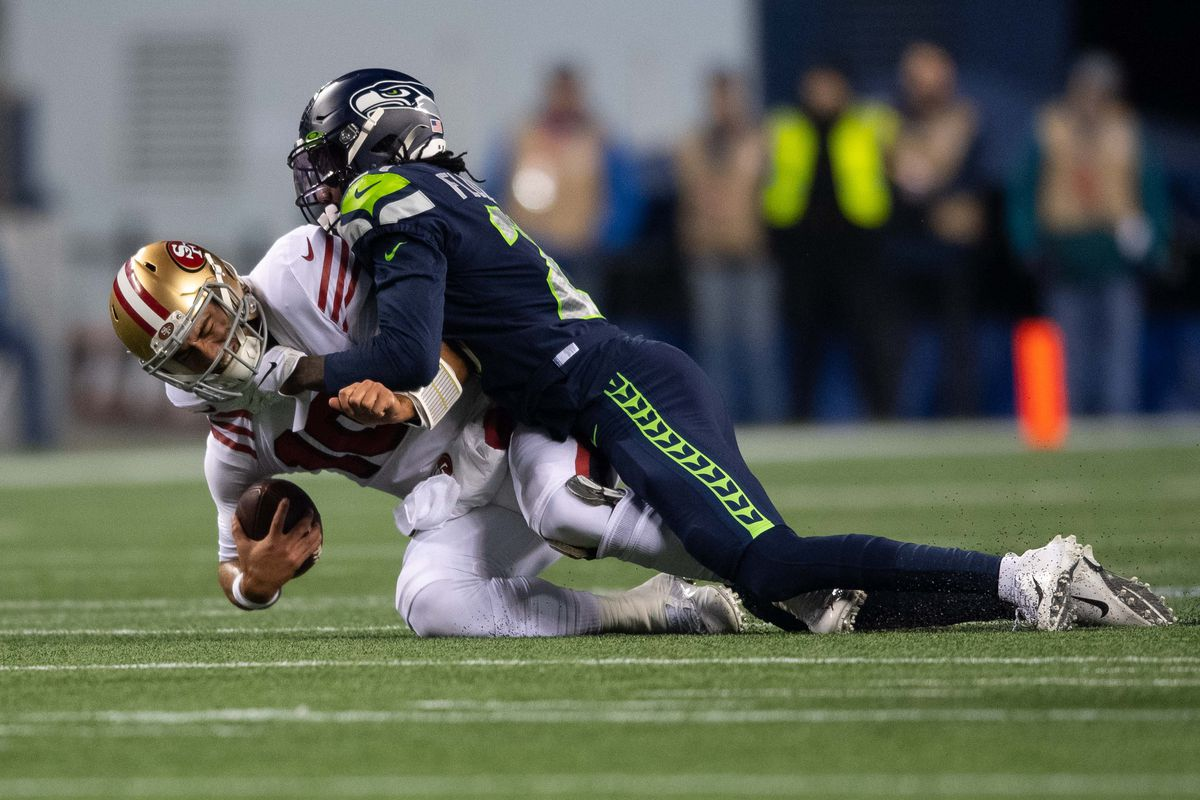 NFL: San Francisco 49ers at Seattle Seahawks