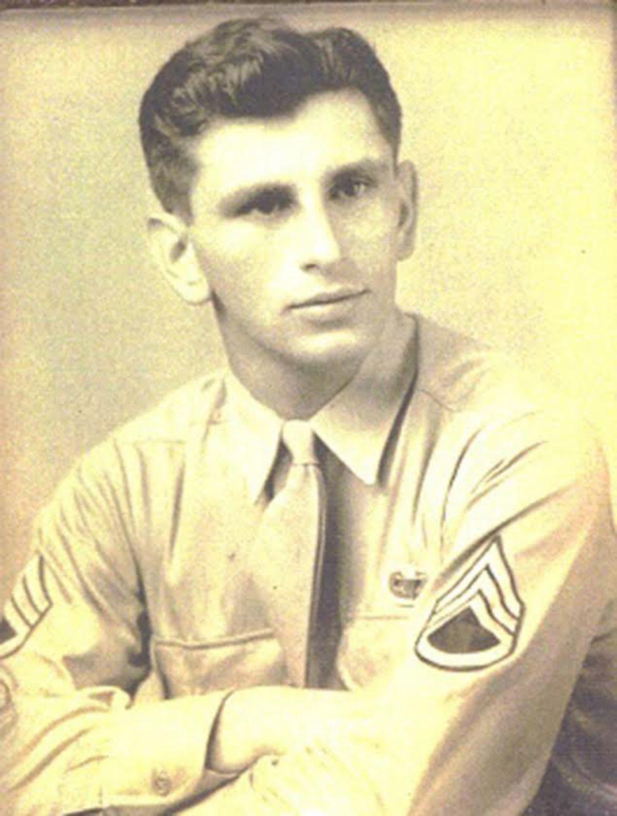 Al Mampre in his Army days.