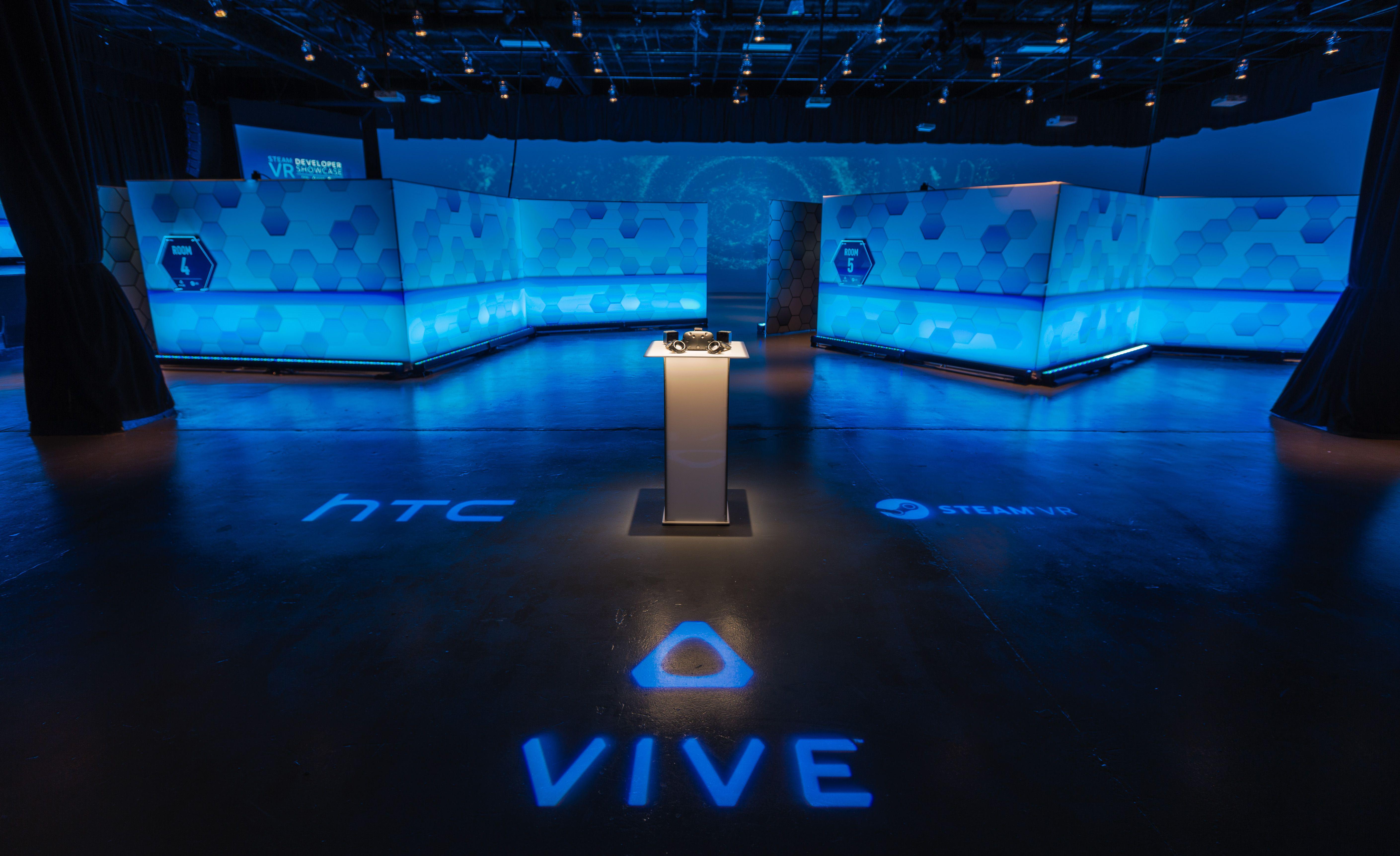 Vive big room