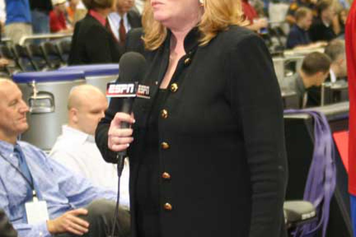 tWWL's Shelley Smith has been essentially working as the Trojan's in house press secretary in ESPN