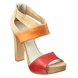 "Nine West Stylin' colorblock sandals, $89 at <a href=""http://www.ninewest.com/Stylin,-Ships-4/26/6802237,default,pd.html?cgid=5241465&itemNum=1&variantSizeClass=&variantColor=DPKOMLE"" rel=""nofollow"">Nine West</a>"