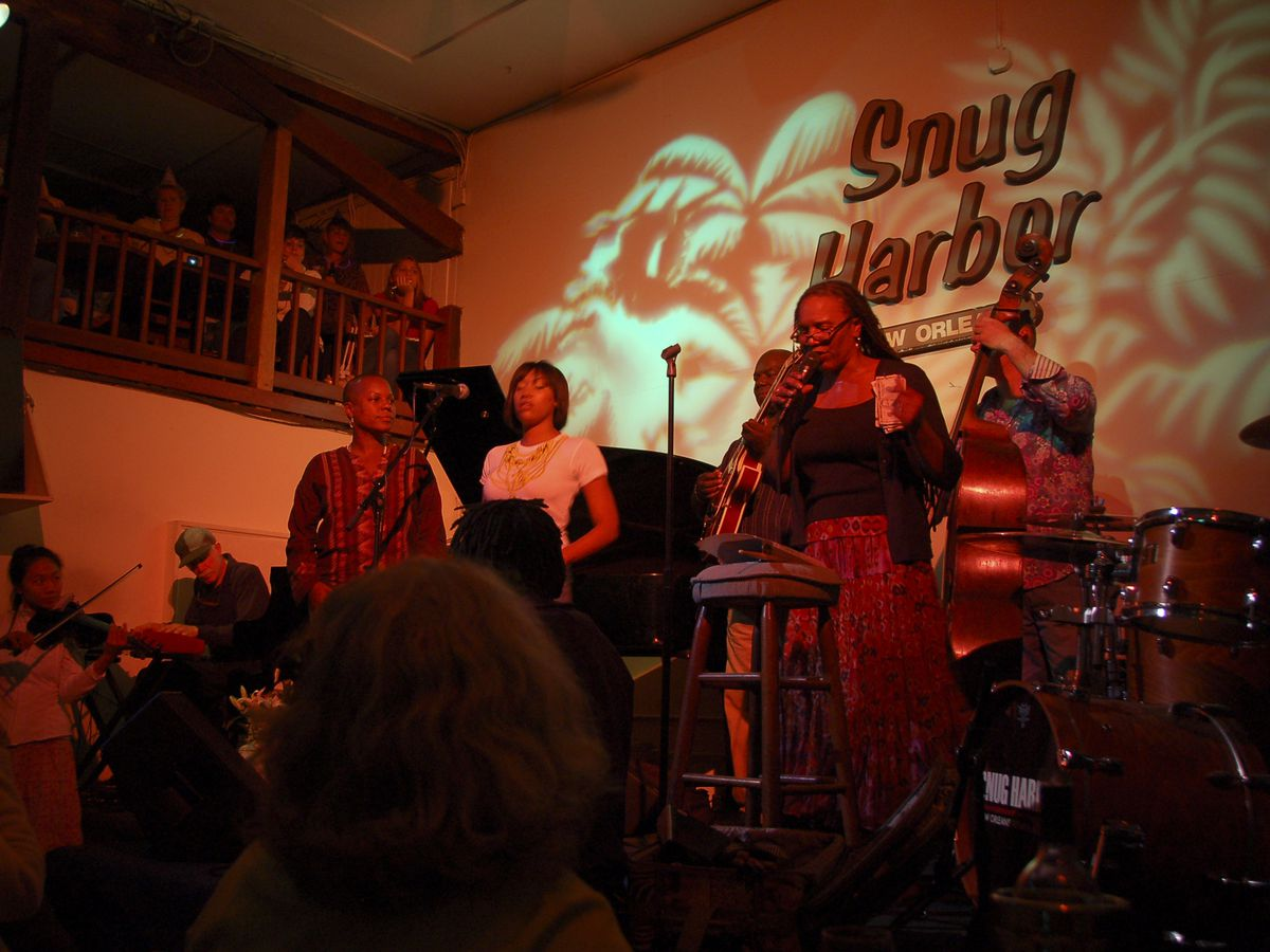 1 Snug Harbor Jazz Bistro 626 Frenchmen St