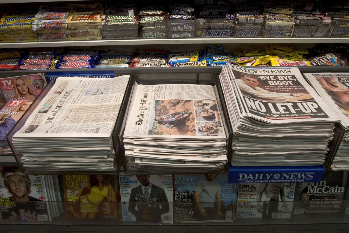 New York Times To Reduce Size Of Newspaper