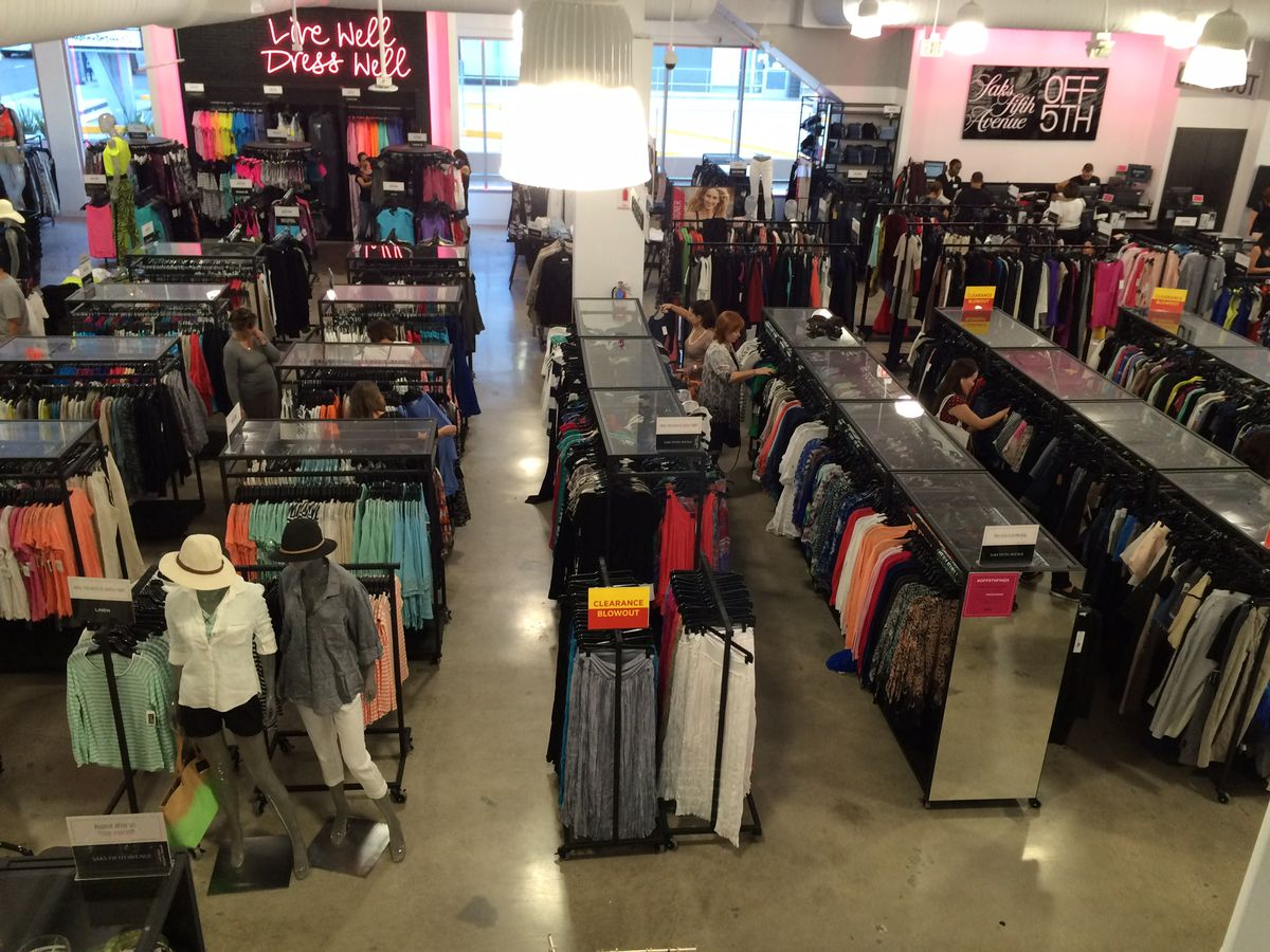 Photos: LA's First Saks Off 5th Outlet Will Blow Your Mind