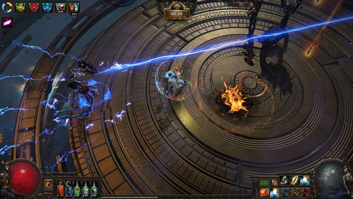 Path of Exile: Echoes of the Atlas expansion's new boss rush