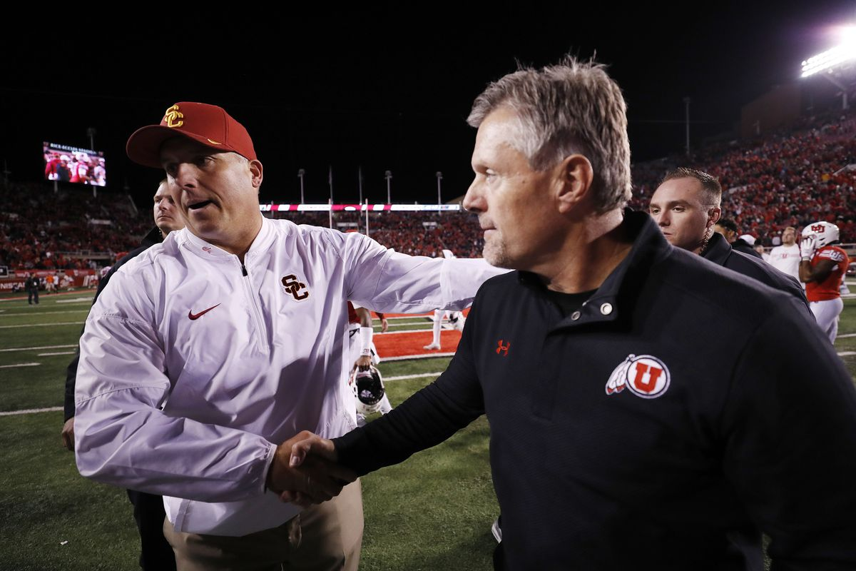 4fc0a1482b1 Will USC s Clay Helton survive as head coach  Probably not according to  MyBookie oddsmakers.