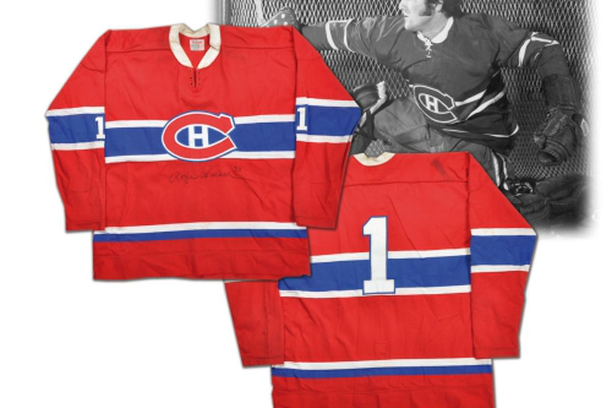 size 40 01a95 ff0c4 Rogie Vachon collection highlights latest Classic auction ...