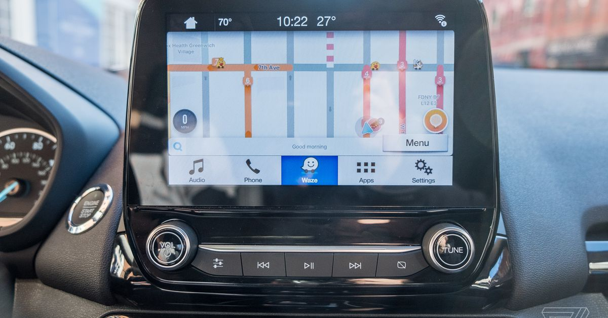 Waze for iOS is finally coming to Ford cars