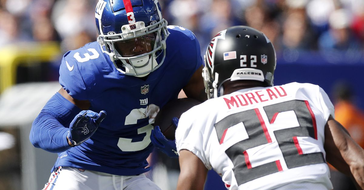 Giants vs. Panthers inactives: Sterling Shepard OUT with hamstring injury