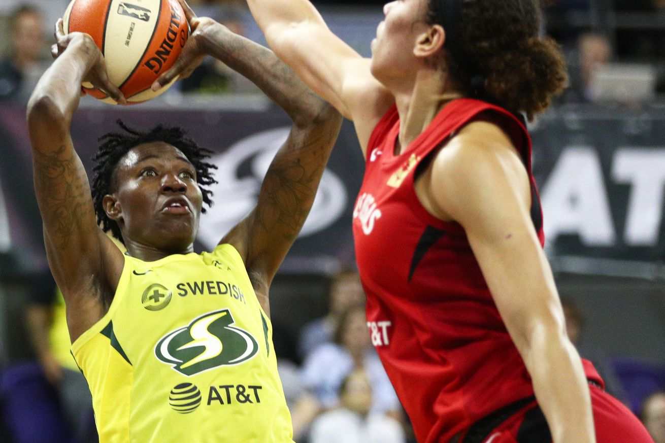 Seattle Storm sets franchise record for steals in win over Las Vegas Aces