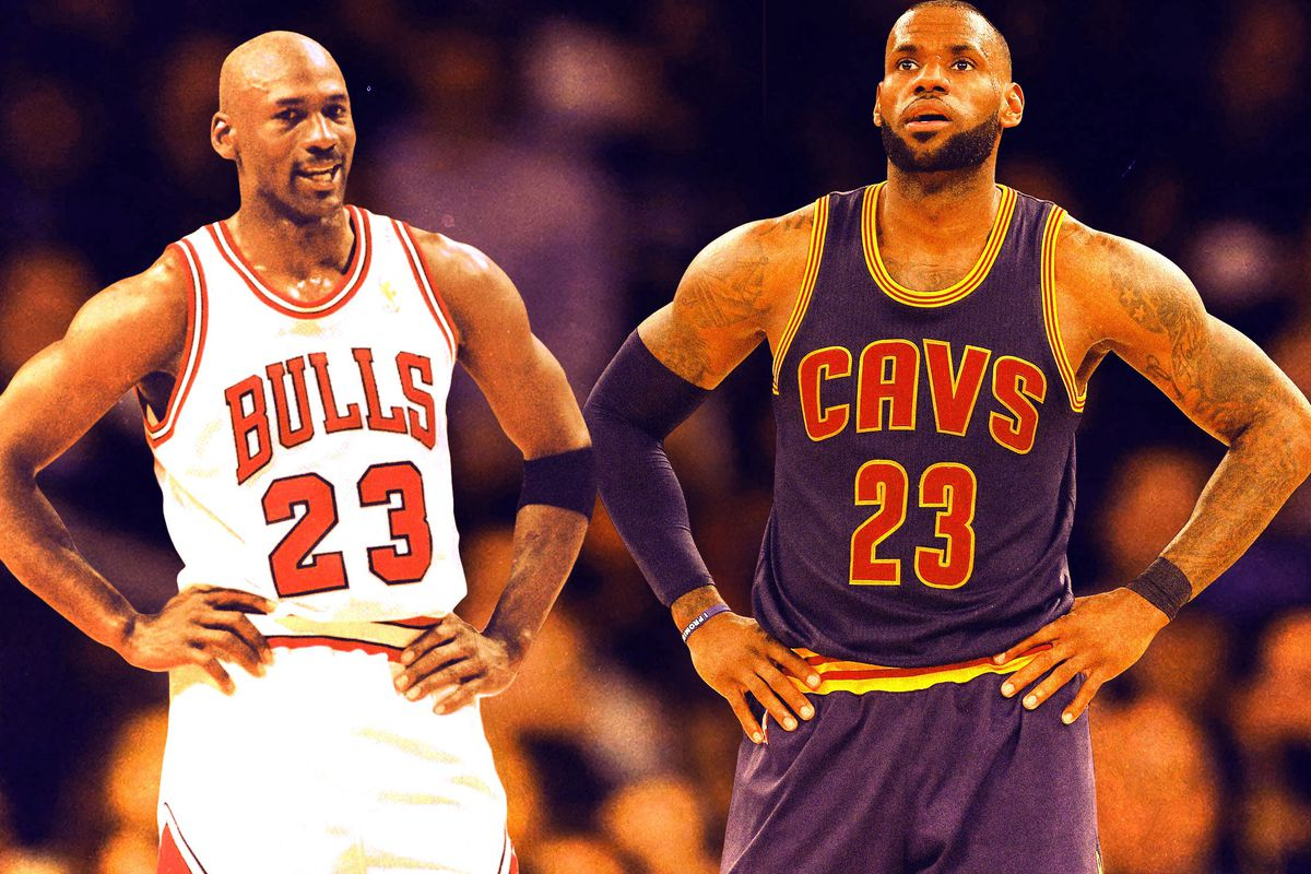 df19527fc53e LeBron James vs. Michael Jordan Is a Real Conversation Now