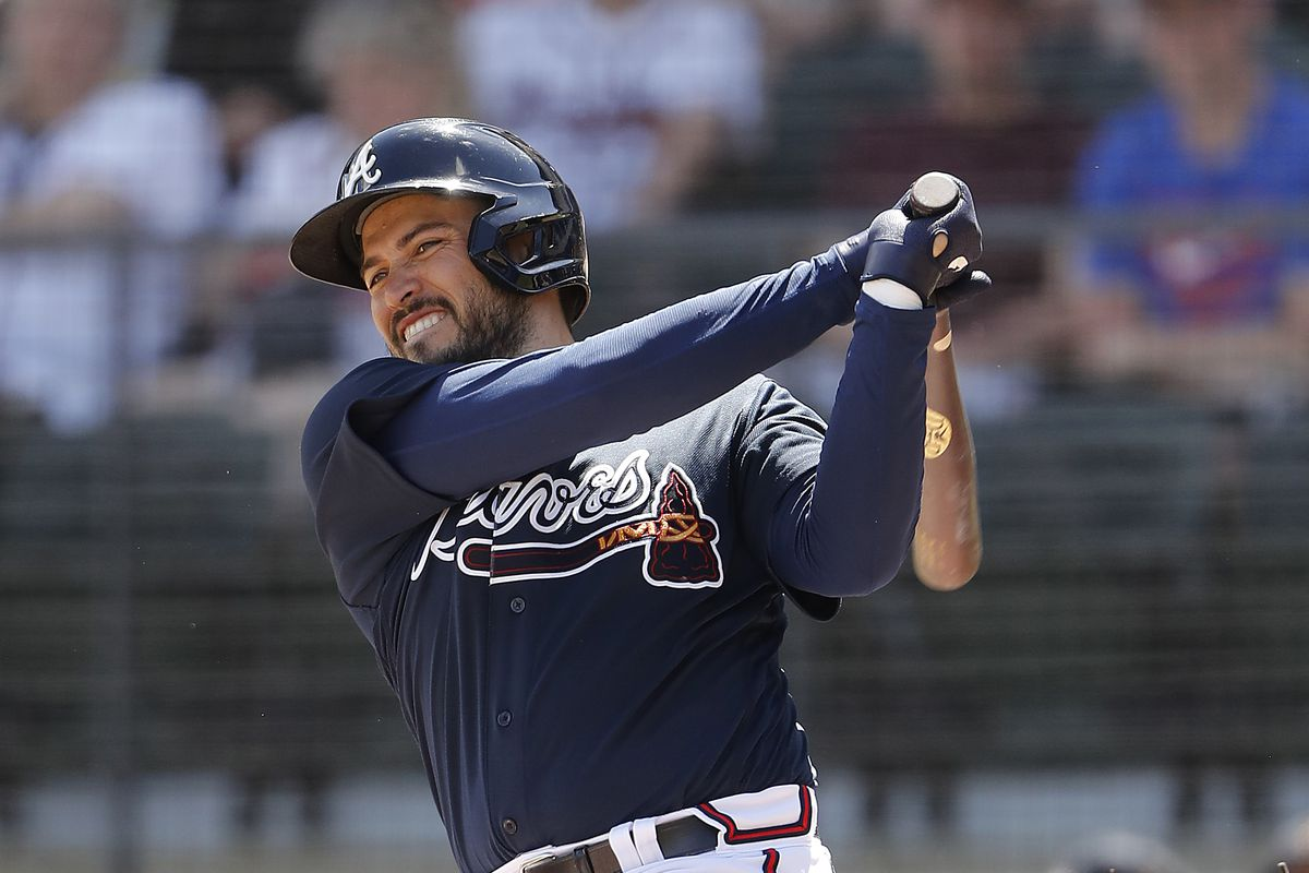 Houston Astros v Atlanta Braves